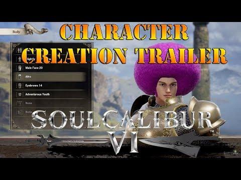 Soul Calibur 6 - Character creation trailer