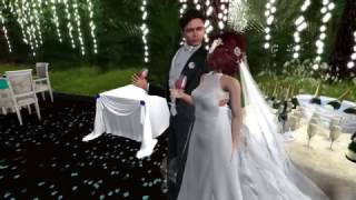 Micheal & Sparkle Second Life Wedding - 3.317