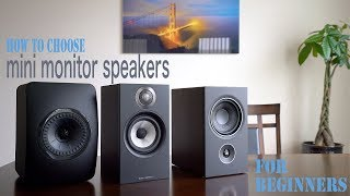 How To Choose Mini Monitor Speakers For Beginners