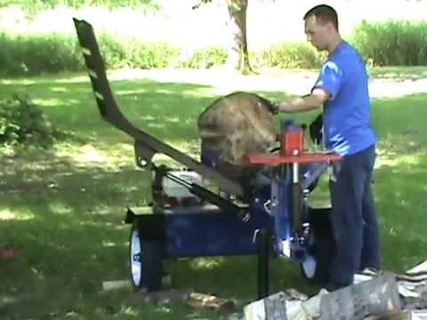 Iron & Oak 30 Ton Log Splitter with Log Lift