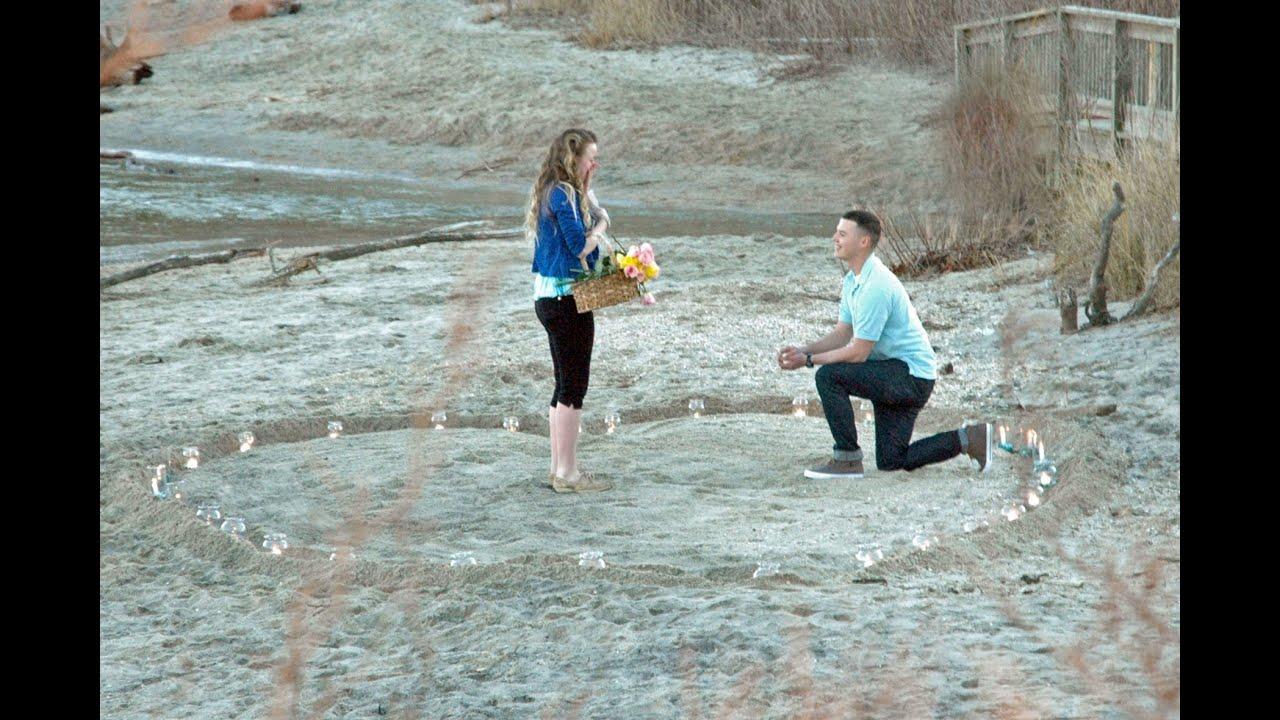 brandons romantic proposal to rebekah march 9 2013   youtube
