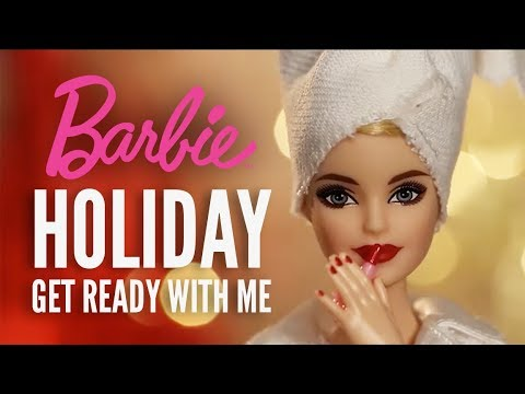 Get Ready with Holiday Barbie™ | Barbie