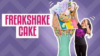 How To Make St. Paddy's Day FREAKSHAKE CAKES | With LUCKY CHARMS | Yolanda Gampp | How To Cake It