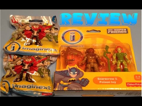 Imaginext Dc Super Friends Poison Ivy, Scarecrow and Blind