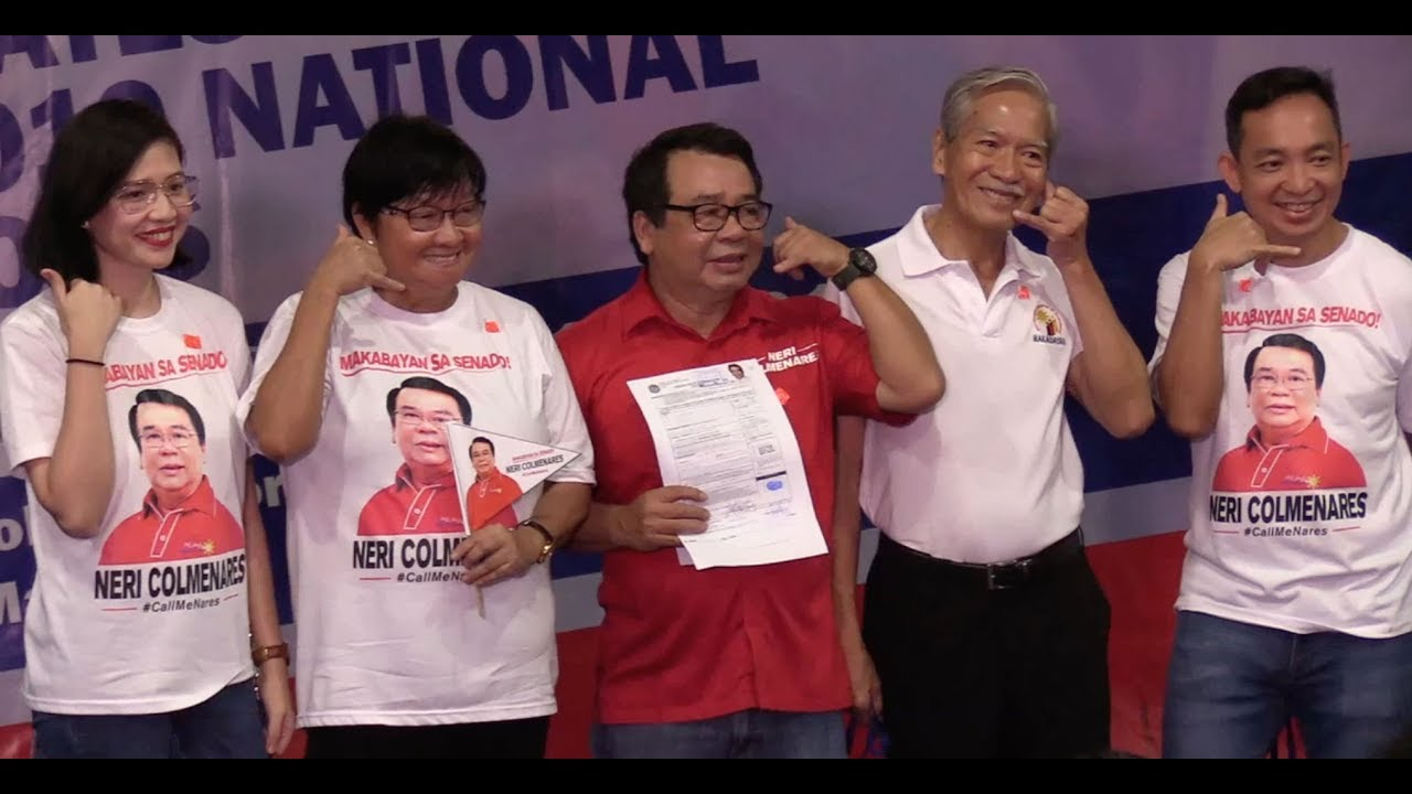 Colmenares vows to remove VAT on basic goods if elected senator