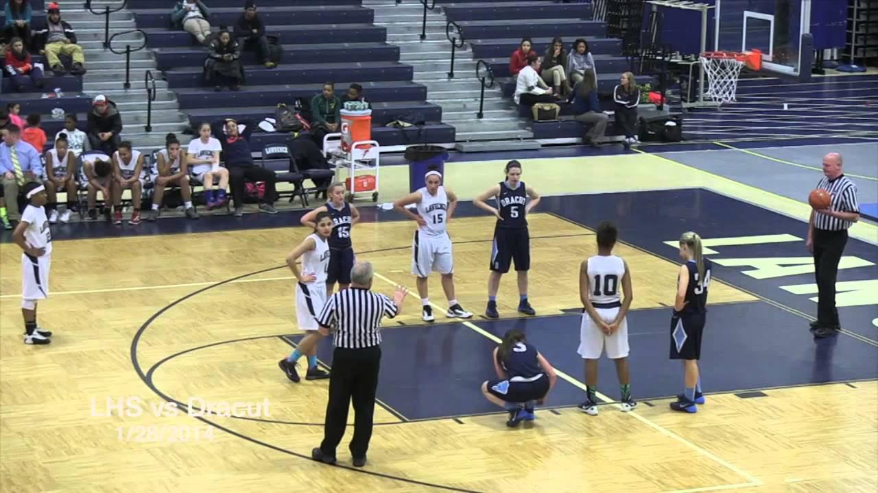 LHS Girls Basketball vs Dracut - YouTube
