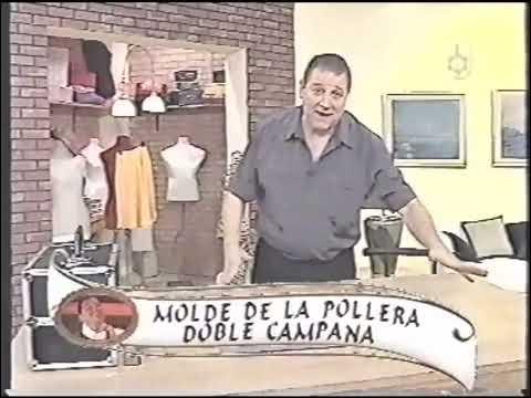 Puntos y Puntadas 38. Tres tipos de faldas ó polleras acampanadas. Moldería. Hermenegildo.