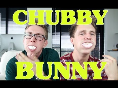 The Chubby Bunny Challenge (ft. Marcus Butler) | Tyler Oakley video