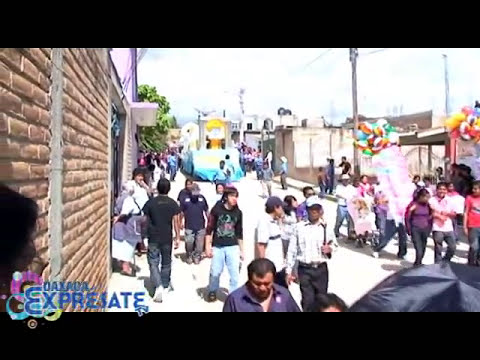 Nochixtlan Oaxaca Fiesta Anual Calenda Primera parte.wmv