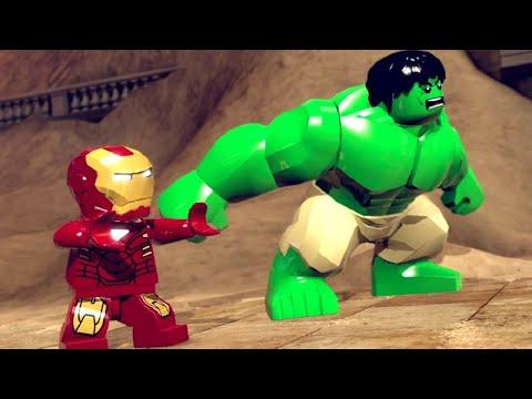LEGO Marvel Super Heroes Walkthrough 1 - Sand Central Station (Demo) ~ Stan Lee In Peril