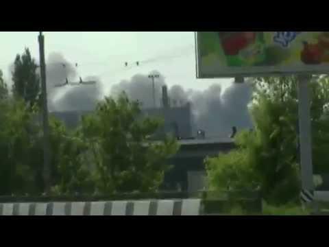 Ukraine launches Air Strikes against Gunmen at Donetsk Airport