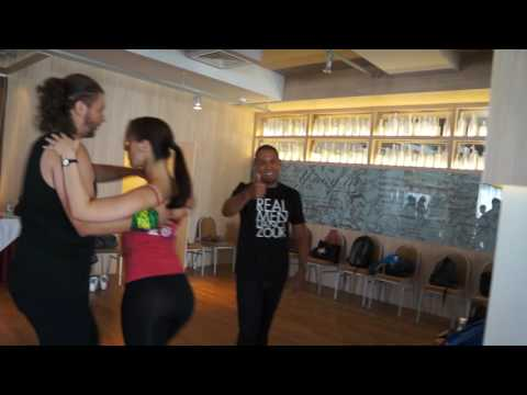 00004 RZCC 2016 Larissa and Kadu Class Practice Dances ~ video by Zouk Soul