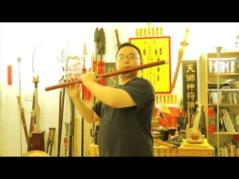 Dizi (Chinese Flute) Concert Grade Low G MEGA Size Pipe! With Music Demo (of course)