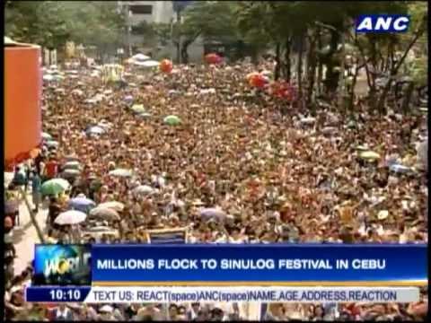 Sinulog 2013 in Cebu draws millions
