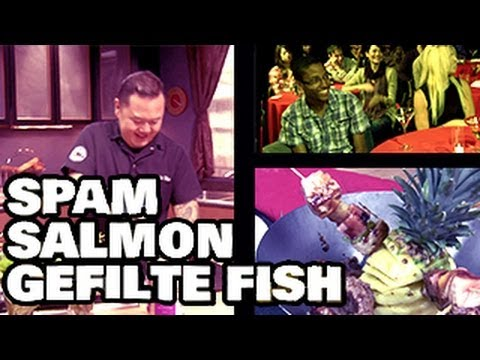 Iron Chef Jet Tila Makes Spam, Salmon and Gefilte Fish Taste Good