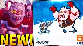 OVERWATCH CHRISTMAS EVENT! - BRAND NEW YETI HUNTER ARCADE MODE!?
