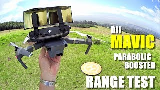 DJI MAVIC PRO Review - Part 4 - [6.4 Mile In-Depth Parabolic Range Booster Test 😮]
