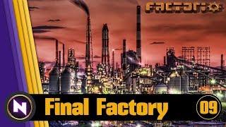 Factorio 0.16 Final Factory #09 OIL PROCESSING