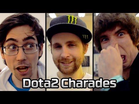 Dota2 Charades with Loda, Dendi, bOne7, and pieliedie | HyperX Moments