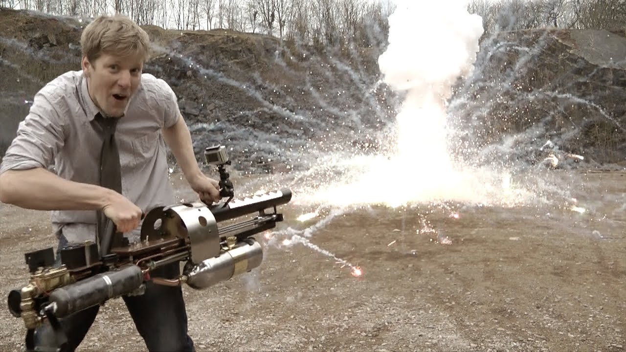 You Won't Believe The Destructive Power Of The Thermite Gun