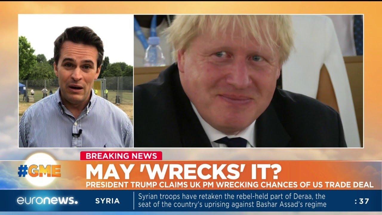 Donald Trump said Boris Johnson would make a great Prime Minister.