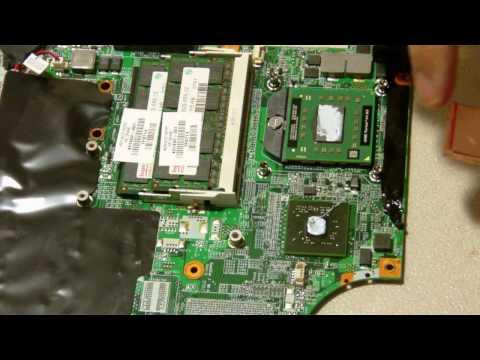 HP Pavilion DV6000 Blank screen fix  BGA rework video problem