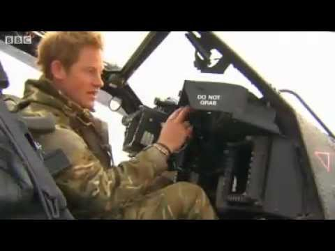 UK's Prince Harry returns from Afghanistan