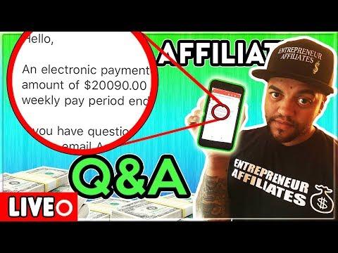 Affiliate Marketing 2018 - Live Q/A