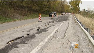 Landslide Repair Costs Adding Up As PennDOT Continues To Manage Dozens Across District