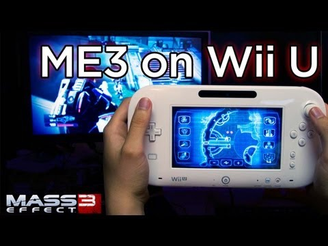Mass Effect 3 on Wii U - First Look at Gamepad Gameplay and Interview!