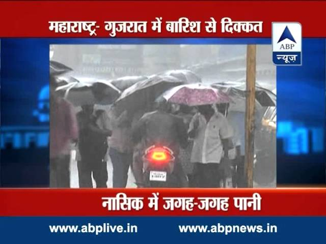 ABP LIVE: Rain lashes parts of Maharashtra, Gujarat