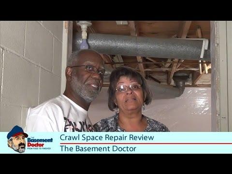 space repair customer review columbus oh vapor barrier basement doctor
