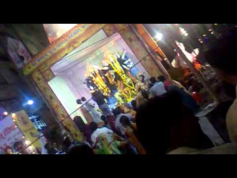 Durga Puja Festival  In Bhopal , Mp , India In 2012 video