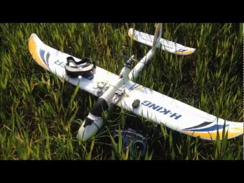 BIXLER RC GLIDER - MY FIRST EVER FPV FLIGHT - FATSHARK PREDATOR