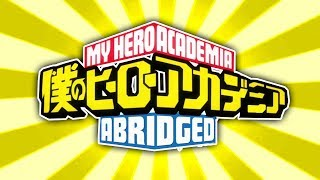 MY HERO ACADEMIA ABRIDGED PREVIEW REACTION
