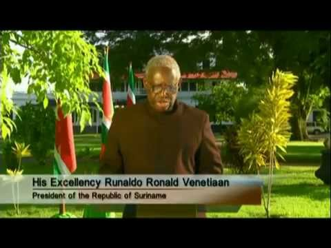 President Ronald Venetiaan UN Climate Change Summit statement (2009)