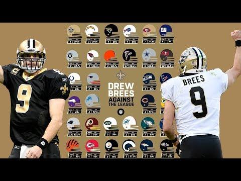 Drew Brees Best Win vs. Every Team  NFL Highlights