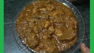 Chicken gravy tamil recipe style  -TAMIL language - Chicken gravy recipe for parotta and chapathi !