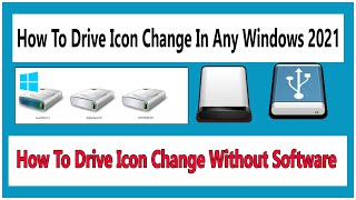 Computer Drive Icon Change Without Any Software Bangla Video tutorial