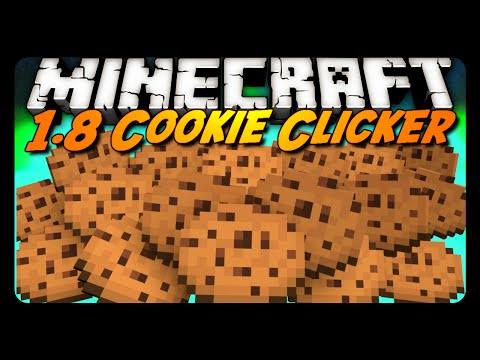 Minecraft: COOKIE CLICKER in 1.8! (Downloadable Map)