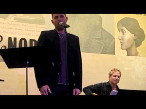 Zak Resnick singing Scott Alans WARM  - Live at Barnes & Noble, December 3rd, 2010