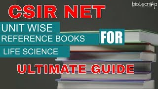csir net Life science reference books - Ultimate Guide