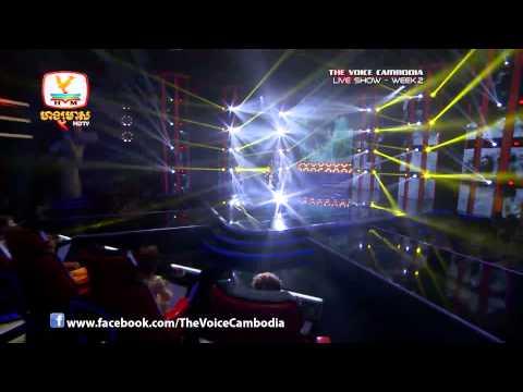 The Voice Cambodia - Live Show 2 - Kom Oy Keh Cheu Jab Daoy Sar Bong - Sok Maren