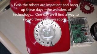 Impatient Robots - don't talk to them!!!
