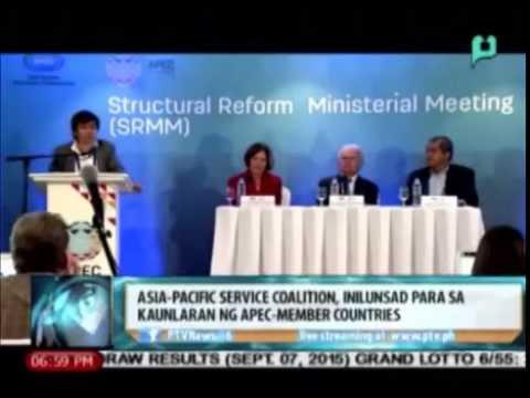 News@6: Asia-Pacific Service Coalition, inilunsad para sa kaunlaran ng APEC-member countries