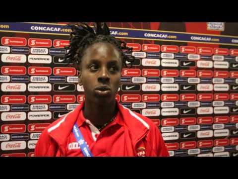 Kennya Cordner - Trinidad and Tobago vs Guyana Post-Game Feb 16th, 2016