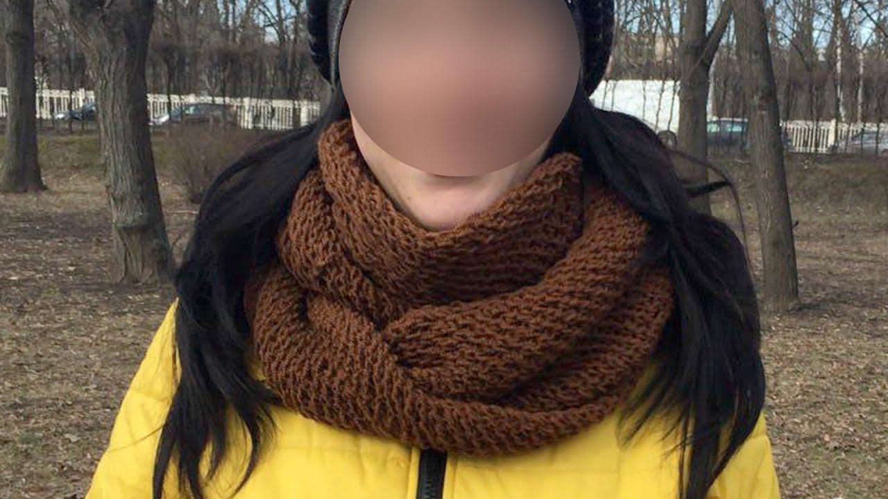 Как связать шарф снуд своими руками
