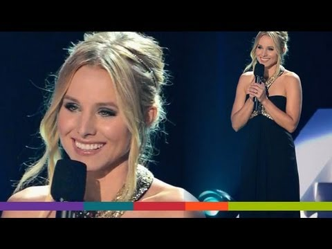 Cmt Music Awards 2012: Kristen Bell's Fashion Choices! video