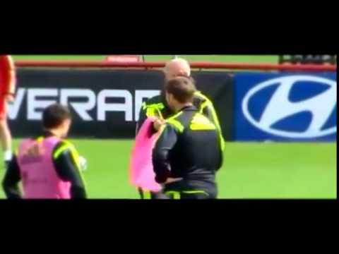 Vicente Del Bosque excludes training Cesc Fabregas Spain Brazil World 2014