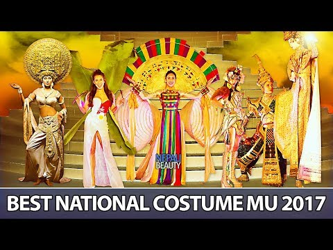 TOP 10 BEST NATIONAL COSTUMES IN MISS UNIVERSE 2017